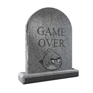 RIP Angry Birds 2013
